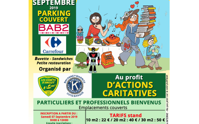 VIDE GRENIERS - PARKING CARREFOUR BAB2
